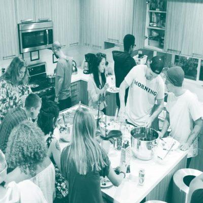 Collaborative Living - kitchen duty